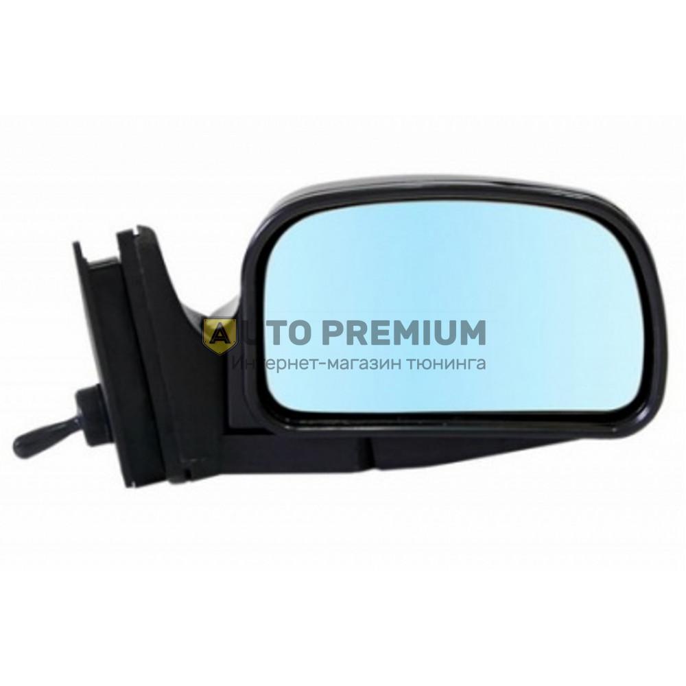 Боковые зеркала W-5 04 неокрашенные с голубым антибликовым покрытием на ВАЗ 2104-07